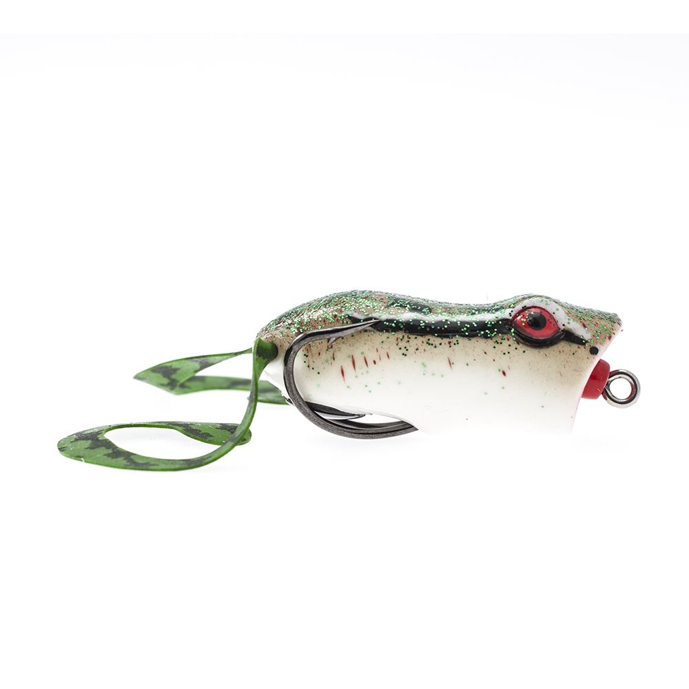 Bass store italy t fishing extreme nana pop weedless frog for Frogs for fishing